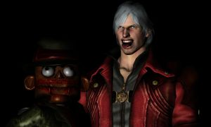 Dante Puppet Scarface by sidneymadmax