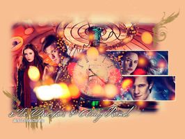 The Doctor and Amy Pond by feel-inspired