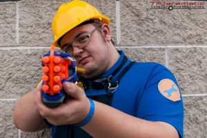 ALCON Team Fortress 2 BLU Engineer by TPJerematic
