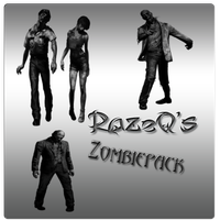 Zombie Brushes by RazeQ