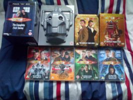Doctor Who - Eccleston/Tennant DVDs by RobotHellboy1114