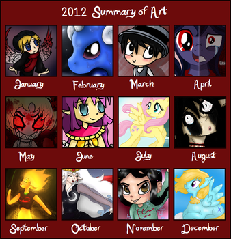 Stage's 2012 Summary of Art by xStage
