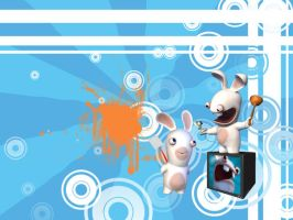 Rabbids go Retro by XFoxxDie