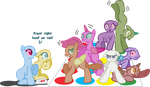 MLP Base - This literally took months to base by Tech-Kitten