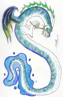 Element Dragons ~ Water by Mortsyn