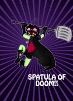 Spatula of Doom!! by oreog