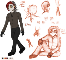 Due Profile -updated lazy version- by stickfigureparadise