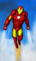 Iron Man sketch colored by Lucas246