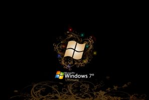 Windows 7 Ultimate Wallpaper by Vinis13