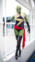 Skrull Ms Marvel by screaM4Dolls