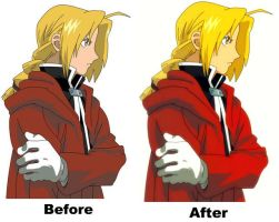 Edward Elric by JodieLouLou