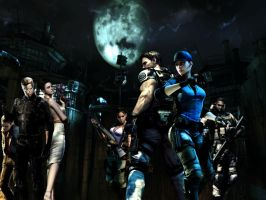 Resident evil wallpaper 11 by ethaclane