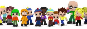 South Park Buddypoke by Ben2DJammin