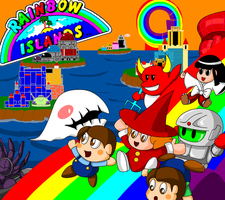 Rainbow Islands by CrossoverGameReviews