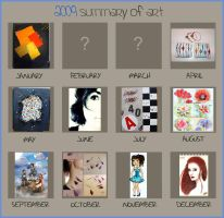 2009 Summary of Art by Lady-Kiwi