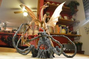S.H Monsterarts - Biollante (10/10) Her Last Fight by GIGAN05