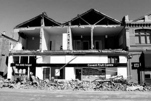 Christchurch Earthquake by soaringturkeys