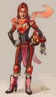 Rox: Red Ninja General by questionstar