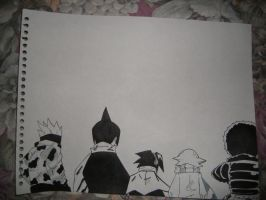 Shaman King group by Nefeli92