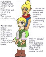 Tetra and Link--Again by aquareverie
