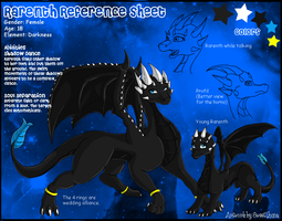 Comission - Rarenth Ref Sheet by SweetLhuna