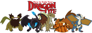 How to Train Your Dragon Type~.:All of them:.~ by Xbox-DS-Gameboy