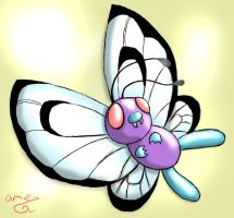 Little Butterfree by ThatScaryThing