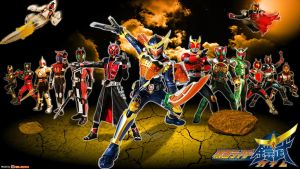 Kamen Rider Gaim - Legend Rider Wallpaper by egallardo26