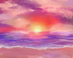 Practice: Sunset by Rainry