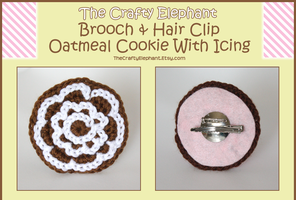 Oatmeal Cookies With Icing by moofestgirl