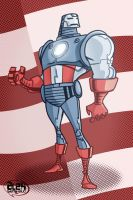 Classic Iron Patriot by alexsantalo