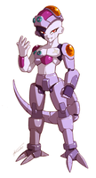 Mecha-Frieza ZX Style by Tomycase