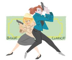 Bonnie And Clarice by its-a-mau