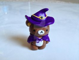Kawaii Rilakkuma Witch Charm by mia831