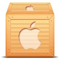 Wooden Apple Box by briquet42