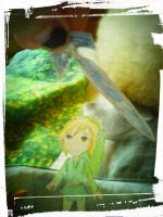 Link paper child by Wanna-be-Kiwi