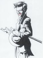 UnColored Joker by Masked-Maestro