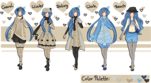 Aruna's Outfits by SoulEvans