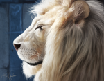 Lion by Sandramalie
