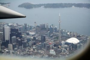 Toronto From The Air by vmulligan