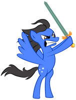Dave and His Sword by elviswjr