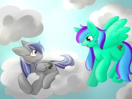 100 Watchers Special: Fine Feathered Ponies by honrupi