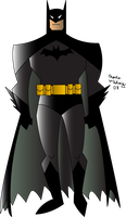 Batman Vector by cthu