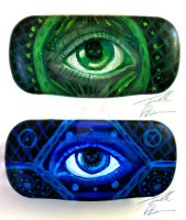 Eye Glass Case by Jelly-716