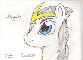 Skywarrior (Facial Sketch) by I-TwistedFury-I