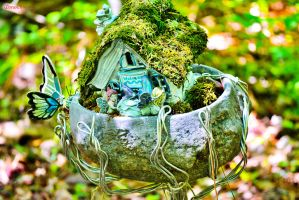 Fairy Garden Party by sioranth