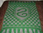 Slytherin Blanket by Shywalker