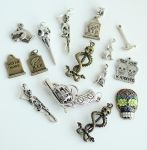 15 Gothic Charms FOR SALE by MonsterBrandCrafts