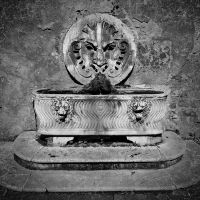 old fountain by crh