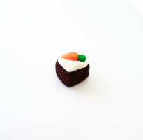 Carrot Cake Charm by SeaOfCreations
